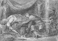 Hector and Andromache, 1803, kiprensky