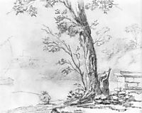 Landscape with Fisherman, 1810, kiprensky