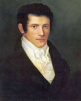 Male portrait, 1826, kiprensky