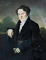 Male portrait, 1826, kiprensky