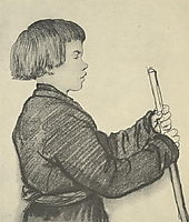 Peasant boy Moska, 1814, kiprensky