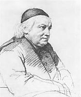 Portrait of the Abbot Sartori, 1818, kiprensky