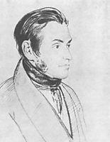 Portrait of Adam Mickiewicz, 1824, kiprensky