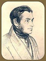 Portrait of Adam Mickiewicz, 1825, kiprensky
