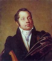 Portrait of an unknown man , c.1830, kiprensky