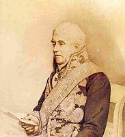 Portrait of Andrey Yakovlevich Italinsky, kiprensky