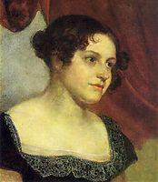 Portrait of Anna Furman, 1816, kiprensky