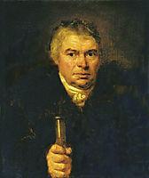 Portrait of the artist-s father, Adam Karlovich Schwalbe, 1804, kiprensky