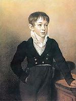 Portrait of a Boy, 1812, kiprensky