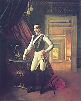 Portrait of Count Dmitri Nikolaevich Sheremetev, 1824, kiprensky
