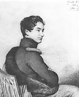 Portrait of Count Sergei Petrovich Buturlin, 1824, kiprensky