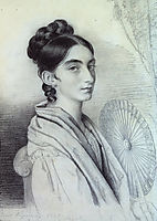 Portrait of Countess Sophia Alexandrovna Golenischev-Kutuzova, 1829, kiprensky
