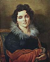 Portrait of Darya Nikolaevna Chvostova, 1814, kiprensky