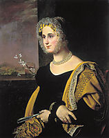 Portrait of Ekaterina Avdulina, kiprensky