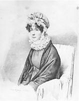 Portrait of Ekaterina Petrovna Rostopchina, 1822, kiprensky