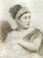 Portrait of Ekaterina Semenova, 1815, kiprensky
