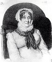 Portrait of Elizabeth Olenina, 1813, kiprensky