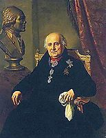 Portrait of Grigory Grigorievich Kushelev, 1827, kiprensky