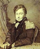 Portrait of Gurko, 1811, kiprensky