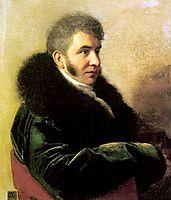 Portrait of Ivan Alexeevich Gagarin  , 1811, kiprensky