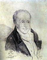 Portrait of Ivan Petrovich Wolfe, 1811, kiprensky