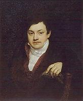 Portrait of Kusov Aleksey Ivanovich, 1809, kiprensky