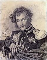 Portrait of M. Lansky, 1813, kiprensky
