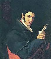 Portrait of Nicholas Semenovich Mosolov, 1811, kiprensky