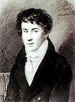 Portrait of Nikita Muraviev, 1813, kiprensky