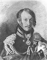 Portrait of A. P. Lansky, 1813, kiprensky