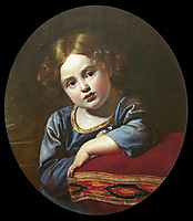 Portrait of Prince E.G. Gagarin as a child, 1817, kiprensky