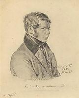 Portrait of Prince Pyotr Andreyevich Vyazemsky, 1835, kiprensky