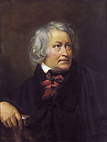 Portrait of the Sculptor Bertel Thorvaldsen, 1831, kiprensky