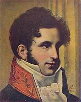 Portrait of Sergei Uvarov, 1813, kiprensky