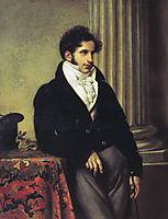 Portrait of Sergei Uvarov, 1816, kiprensky