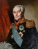 Portrait of Sergey Vyazmitinov, kiprensky