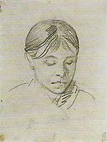 Portrait of a sister (Anna Schwalbe), 1807, kiprensky