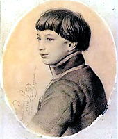 Portrait V. P. Orlov-Davydov, 1828, kiprensky