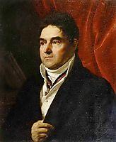 Portrait of V. S. Khvostov, 1814, kiprensky