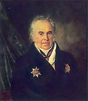 Portrait of V. S. Sheremetev, 1825, kiprensky
