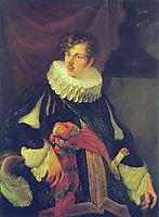 Portrait of Vasily Alekseevich Perovsky, 1809, kiprensky