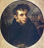 Portrait of Vasily Zhukovsky, 1816, kiprensky