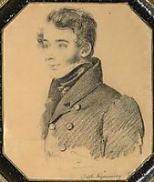 Portrait of young man, c.1820, kiprensky