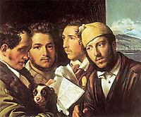 Readers of newspapers in Naples, 1831, kiprensky