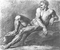 Reclining sitter, 1802, kiprensky