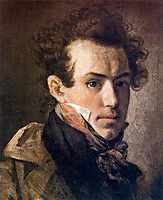 Self-portrait, 1809, kiprensky