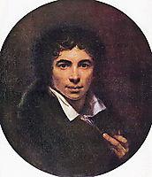 Self-portrait, 1820, kiprensky