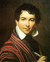 Self-portrait, 1828, kiprensky