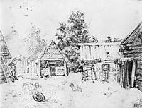 View from the window, 1807, kiprensky
