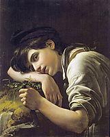 Young Gardener, 1817, kiprensky